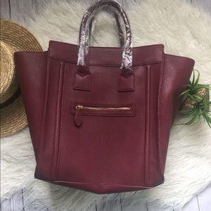Burgundy bag brand new